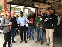 September 2018 Sponsored by Lerdahl Business Interiors & Link USA at Capital Brewery